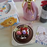 先生の誕生日